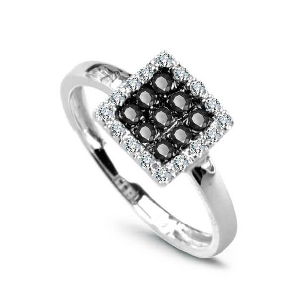 Zásnubní prsteny - Prsteny s diamantem PBD1910 - 1