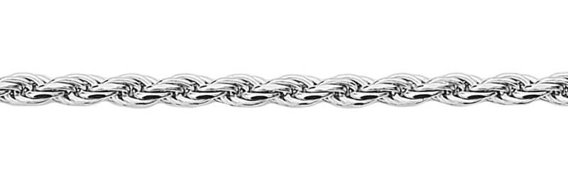Srebrny ³añcuszek LDX1944 - 1