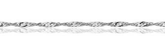 Srebrny ³añcuszek LDX4425 - 1