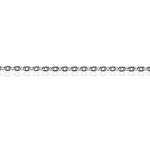 Srebrny ³añcuszek LDX0012 - 1