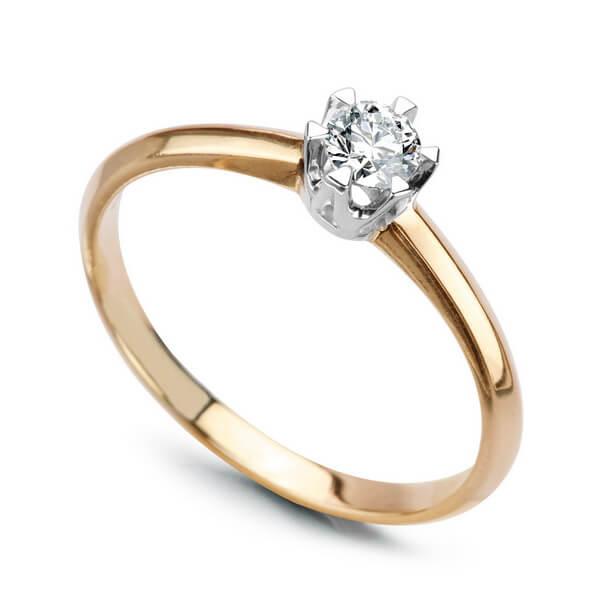 PierÅ›cionek z diamentem PXD1718 - 1