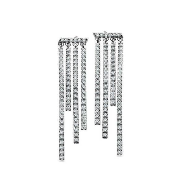 Srebrne kolczyki KSC5176 - 1