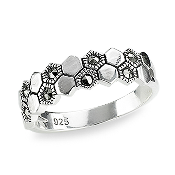 Srebrny pier¶cionek PDM5528 - 1