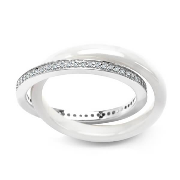 Srebrny pier¶cionek PDK5612 - 1