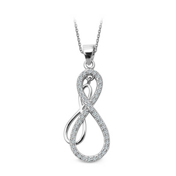 Srebrny wisiorek WSC5699 - 1